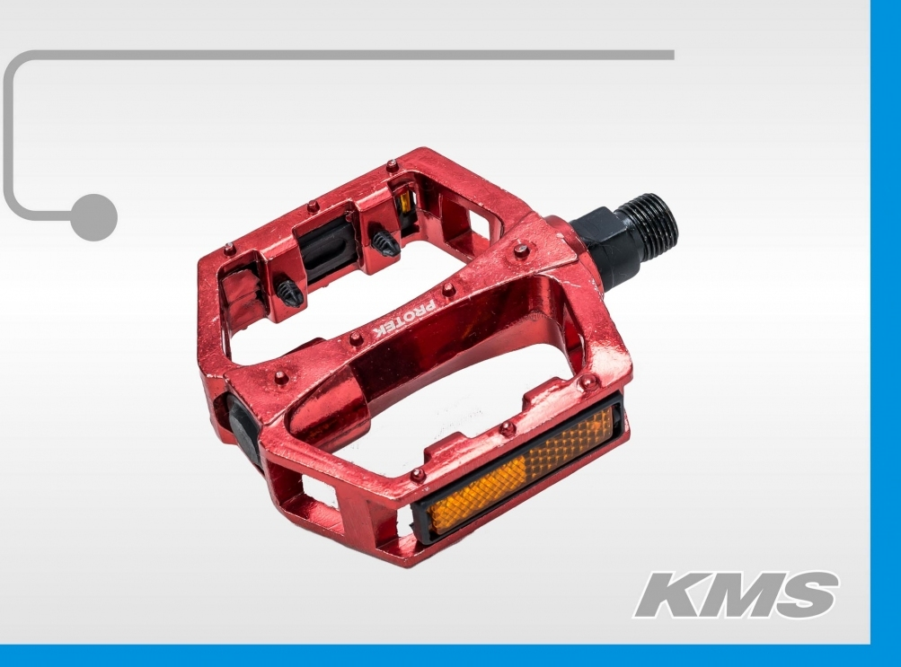 Педаль алюминиевая МТВ цветная 3032603-73