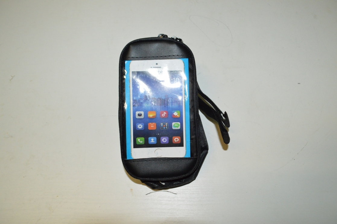 Сумка-бардачок для инструм., крепл. на раму, с отд. для телефона, код 3258107